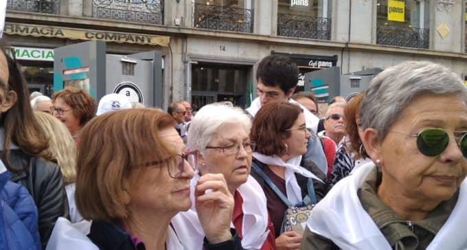 La Plataforma de Pensionistas de Villena acude a la manifestación en Madrid
