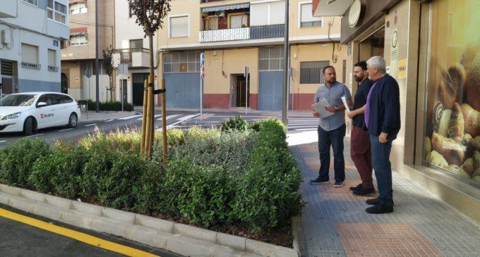 Finalizan las obras de reurbanización de la calle Maestro Francisco Bravo