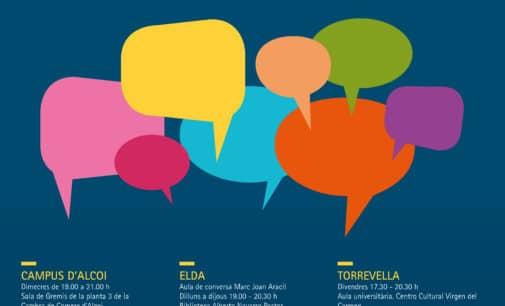 La UA pone en marcha un programa gratuito de Aulas de Conversación en valenciano en 7 municipios de la provincia