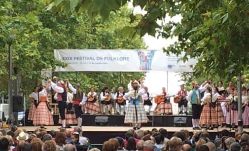Once agrupaciones bailarán «La jota de Villena» en las Jornadas Nacionales Juveniles de Folklore
