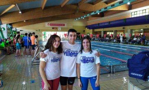 Los nadadores del Club Natación Villena mejoran marca en el Memorial Tomás Martínez de Aspe
