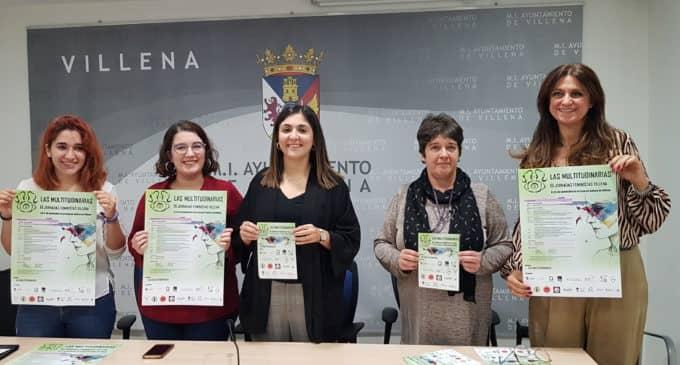 """Organizan las III Jornadas feministas """"Las multitudinarias"""" en Villena"""