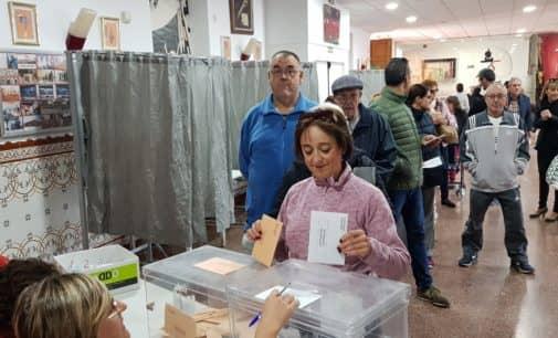 El Psoe ganan las elecciones del 10N aunque pierde votos en Villena