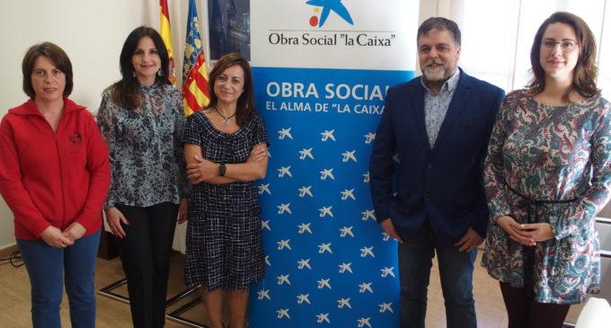 La Obra Social La Caixa  dona 10.000 euros para ayudas al comedor escolar