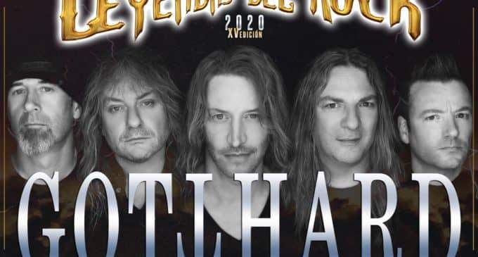 Gotthard: la mayor banda suiza, en Leyendas del Rock