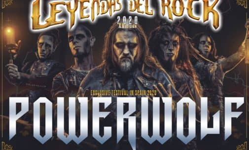 Powerwolf, cabeza de cartel de Leyendas del Rock 2020