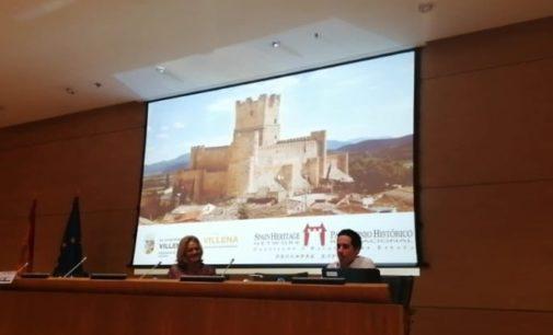 Villena presenta el Castillo en la Asamblea de Castillos y Palacios Turísticos de España