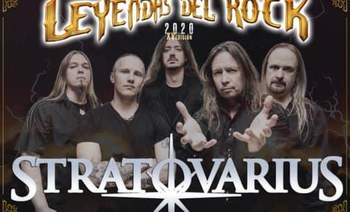 Stratovarius, nueva confirmación de Leyendas del Rock 2020
