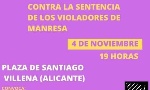 Concentración contra la sentencia de los violadores de Manresa
