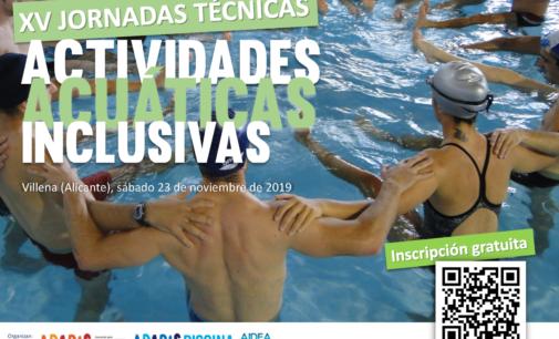 XV Jornadas Técnicas de Actividades Acuáticas Inclusivas en APADIS