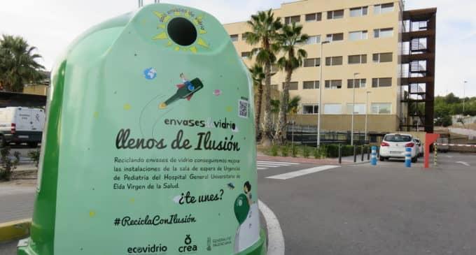 """La campaña de Ecovidrio """"Llenos de ilusión"""" llega a su recta final con un 9% de incremento en la tasa de reciclaje de vidrio"""