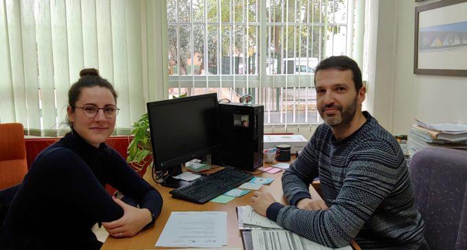 La concejala de Educación de Villena hace una ronda de visitas a los colegios