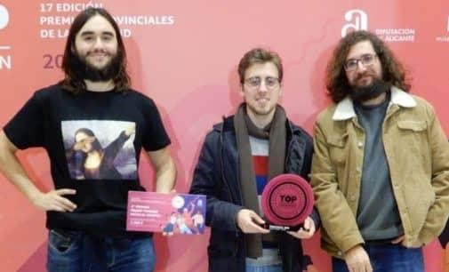 El grupo villenense  Kind of Standard ganan el tercer premio en la gala  provincial de Top Creation