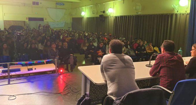 Jordi Linares imparte una conferencia en el IES Hermanos Amorós dentro de la Semana de la Ciencia de la UPV