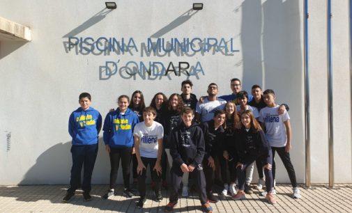 Abraham Ruiz e Irene Díaz sobresalen en el primer Control de Marcas de la temporada del Club Natación Villena