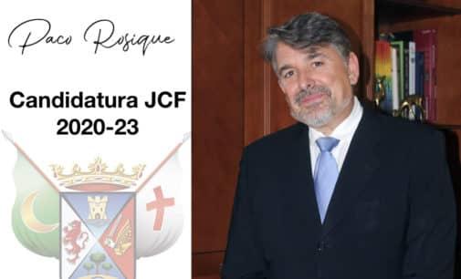 El candidato a presidente de la JCF, Paco Rosique, conforma la que será su junta directiva