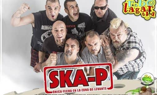 Ska-P, cabeza de cartel de Rabolagartija 2020