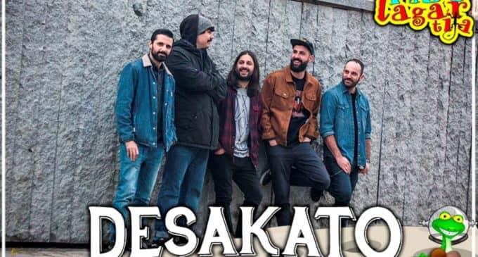 Desakato, Los Chikos del Maíz, Xavi Sarriá i el Cor de la Fera, Ciudad Jara, Nativa y Valira, en Rabolagartija 2020