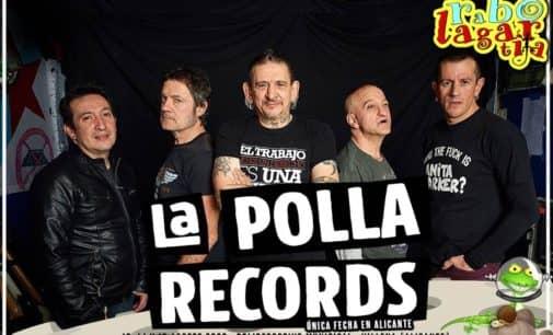 La Polla Records, cabeza de cartel de Rabolagartija 2020