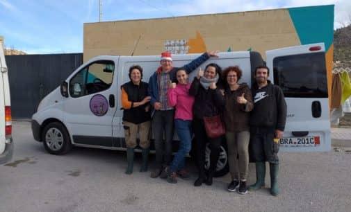 Donativos de Alemania para los animales abandonados en Villena