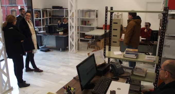El personal del Museo se traslada a sus nuevas dependencias en la Electroharinera