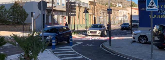Abren al tráfico la avenida de Alicante