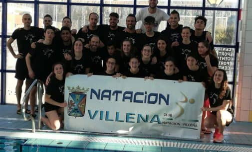 Siete nadadores del Club Natación Villena participarán en el trofeo internacional Castalia- Castellón