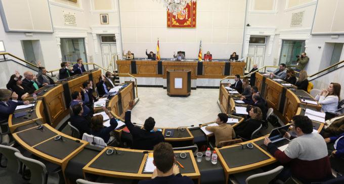 El Alto y Medio Vinalopó pierde dos millones de euros por la negativa de PP y Cs en la Diputación a sumarse al Fondo de Cooperación Municipal