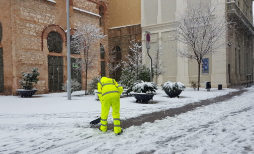 El alcalde valora positivamente el dispositivo de emergencia  puesto en marcha por la nevada