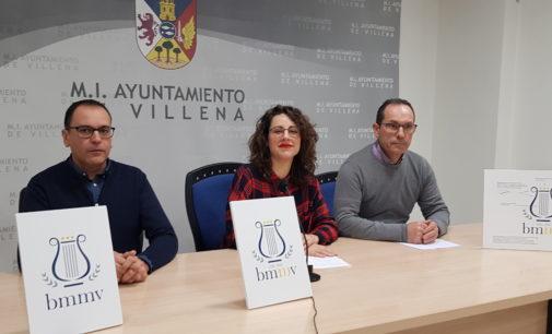 La Banda Municipal de Música de Villena presenta el  logotipo de su centenario