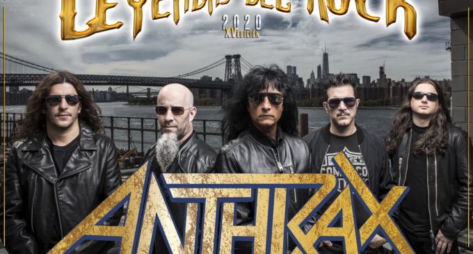 Anthrax, nuevo cabeza de cartel para Leyendas del Rock 2020