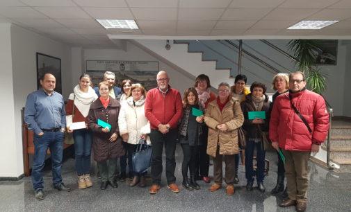 La comunidad de Regantes de la Huerta y Partidas de Villena realiza un donativo a varias asociaciones socio-sanitarias