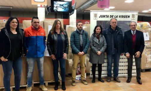 Protección Civil y Cruz Roja colaboran en la recogida de tapones solidarios