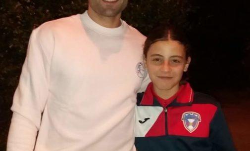Covocan a Frida Poveda del Sporting Villena a la Selección Valenciana de Fútbol Femenino Sub-12