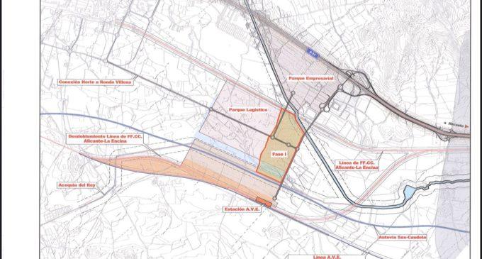 Salguero : «El protocolo para la construcción del nodo logístico en Villena sigue vigente»