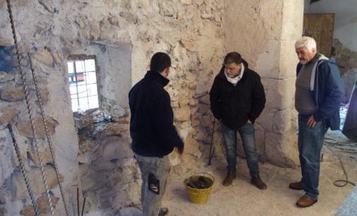 Las obras del santuario de Las Virtudes en Villena entran en su recta final