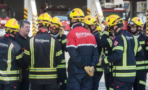 Los bomberos alicantinos intervinieron en un total de 1.340 incendios en 2019