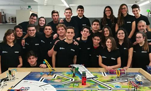 Moldear la ciudad del futuro, el reto Rebolution On, el equipo de robótica del IES Hermanos Amorós