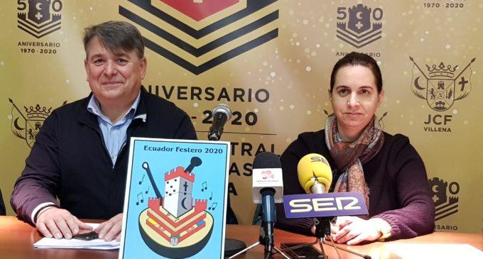 Victoria Galbis gana el concurso del cartel anunciador del Ecuador Festero de Villena