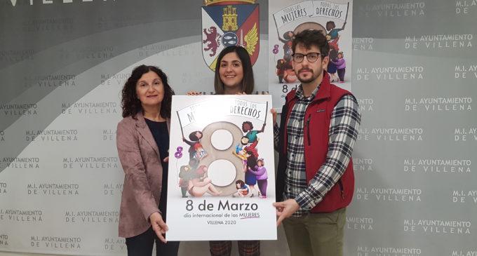 Juan Monzón gana el  concurso del cartel anunciador del Día de la Mujer