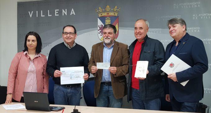 """Entregan 3.000 € a APADIS de la recaudación del libro """"La huella del Ángel """" de Vicente Valero"""