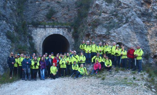 AVIANA recorre la ruta verde del Serpis desde Lorcha a Villalonga