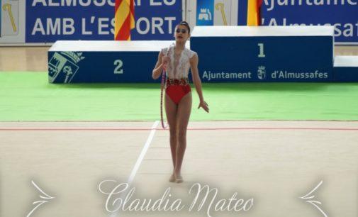 Claudia Mateo del Club Gimnasia Rítmica pasa a la final del campeonato nacional