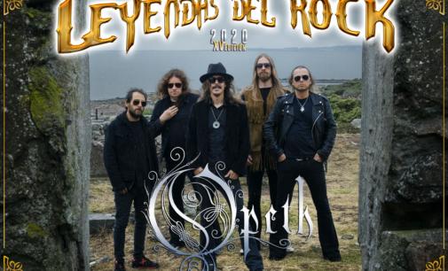 Opeth, cabeza de cartel de Leyendas del Rock 2020