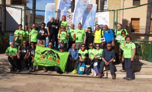 Aviana participa en la 56 marcha de veteranos de la Comunidad Valenciana