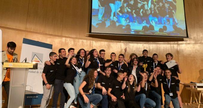 Roboluti On, del IES Hermanos Amorós de Villena, gana la fase provincial de laFirst Lego Leaguecelebrada en la Universidad de Alicante