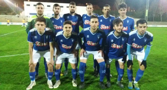 Victoria del Villena CF en el partido contra el Moixent