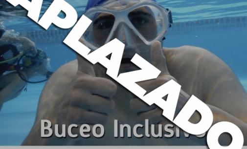 Aplazamiento jornada de Buceo inclusivo y solidario en la Piscina APADIS