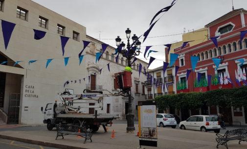 Villena pide un informe alternativo para subsanar los problemas de iluminación en el centro histórico