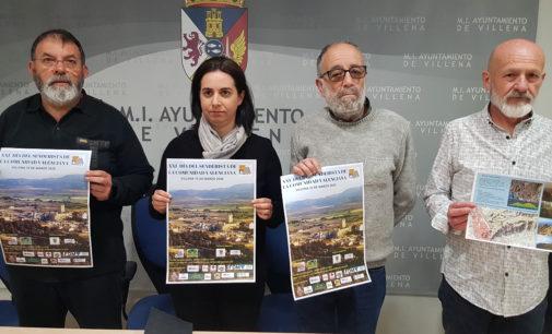 AVIANA organiza por primera vez el Día del Senderista de la Comunidad Valenciana en Villena